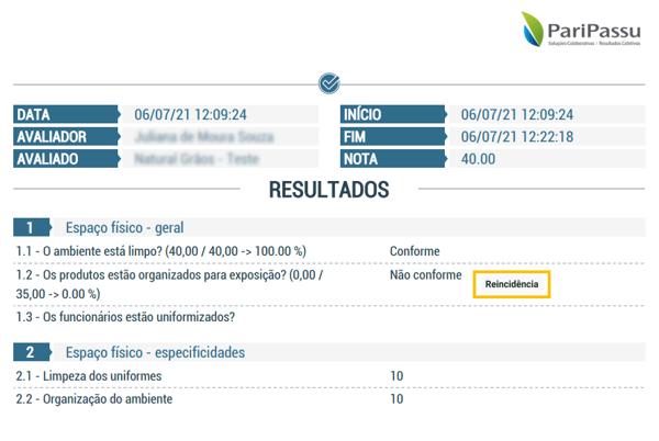 CLICQ_relatório com reincidência de conformidade-inconformidade
