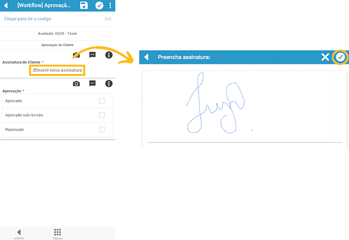 inserir assinatura e tela assinada-2