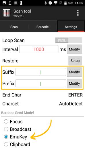 settings rastreador